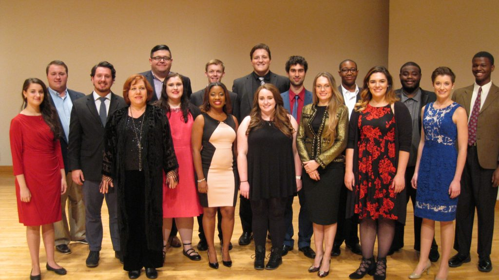 Georgia NATS Audition Winners – Fall 2016